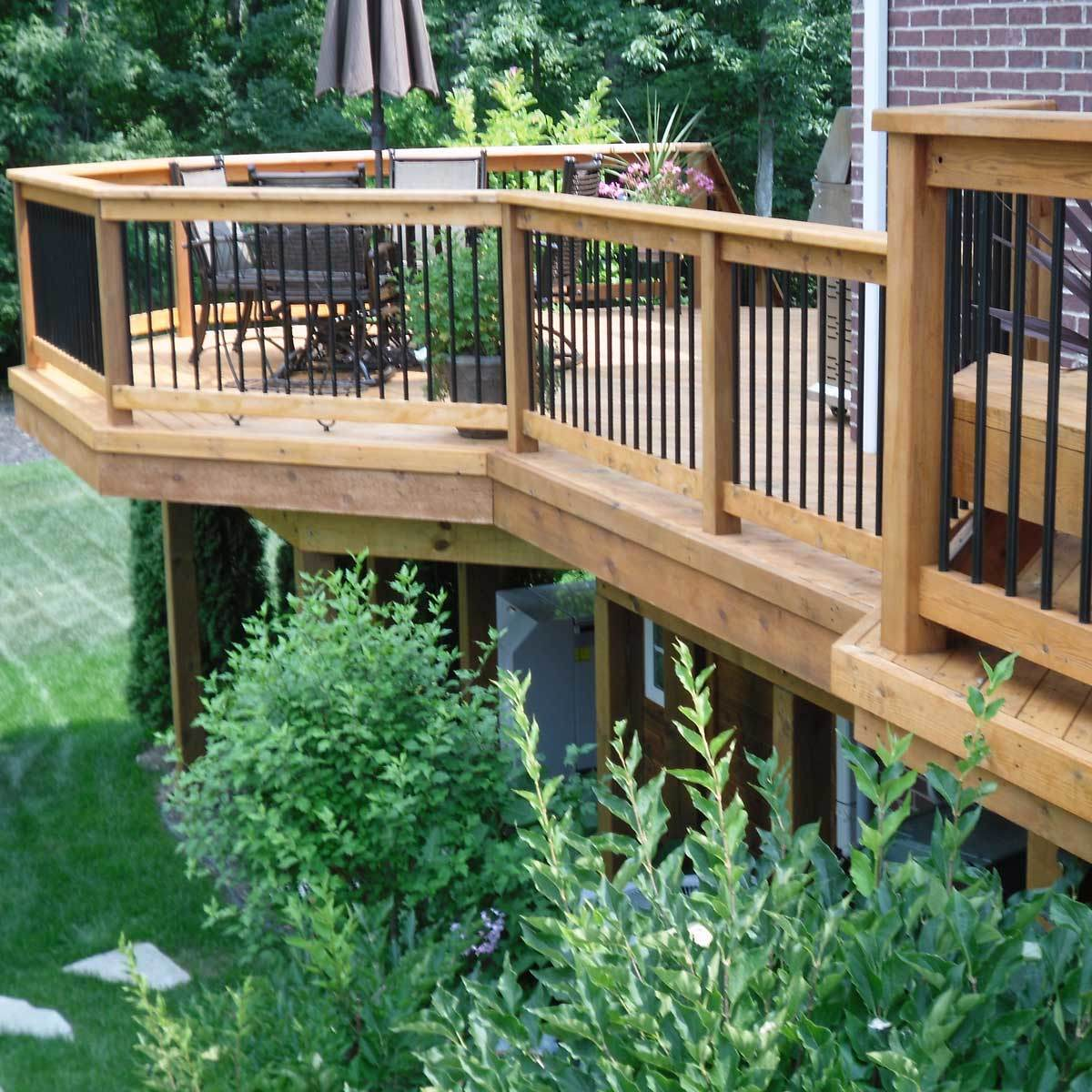 Safe Deck Railings & Stairs