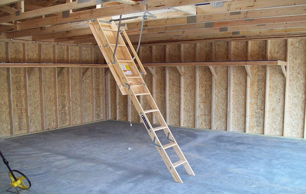 Attic Access Pull Down Stairs Pro Check Home Inspections